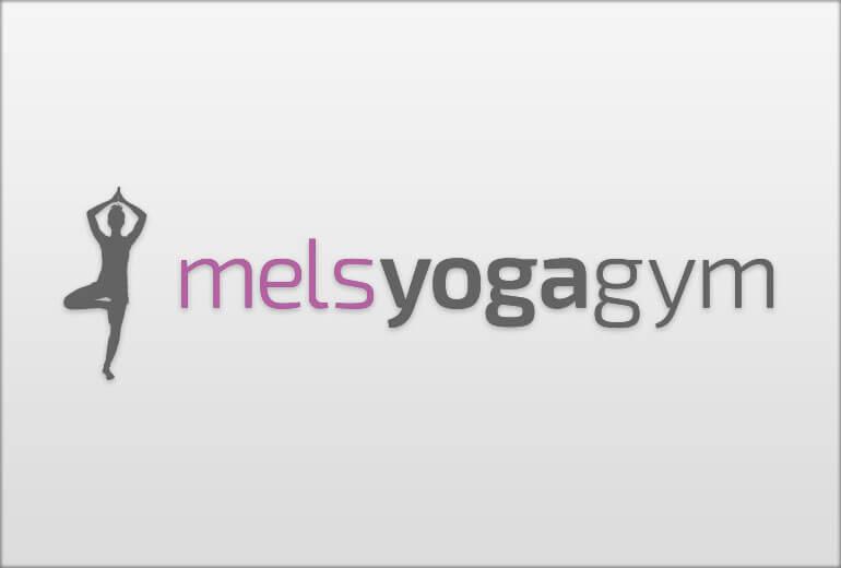 Logo - melsyogagym