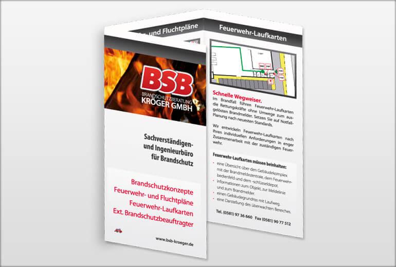 Printmedien - BSB Kröger Flyer