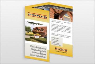 Printmedien - Cohrs Elektrotechnik Flyer