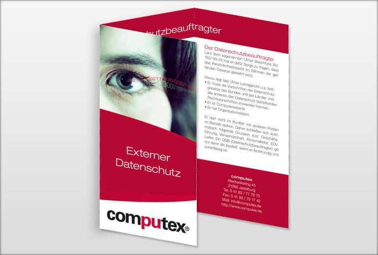 Printmedien - computex Flyer