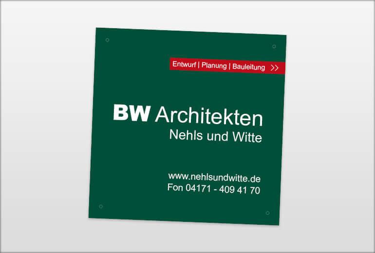 Werbegestaltung - BW Architekten