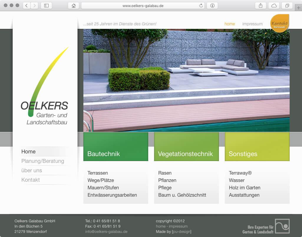 Webseite - Oelkers GaLa