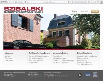 Webseite - Szibalski