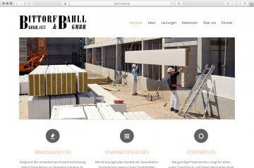 Webseite - Bittorf&Bahll