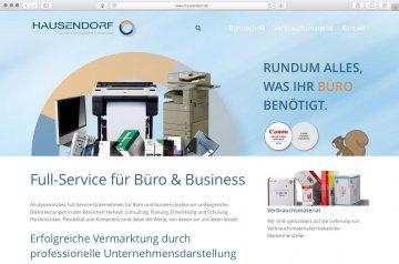 Webseite - Hausendorf