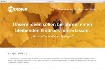 Webseite - Pu-Design