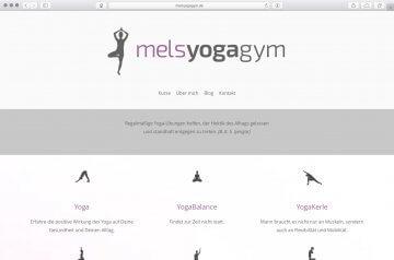 Webseite - melsyogagym.de